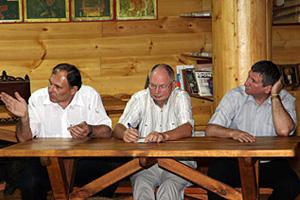 Члены совета: А.А. Половинкин, В.И. Панов, С.О. Шинков.