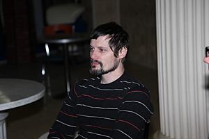 К. Ежков, руководитель театра трюка, пластики и драмы « Коловрат»  г. Тольятти.