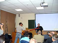 А.А. Медведев рассказывает о спортивной версии палочного боя