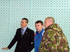 Слева направо Сагалаков Д.А. Дамдинцурунов В.А.