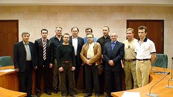 Традиционное фото членов совета