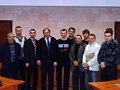 С.Величко и участники EAS